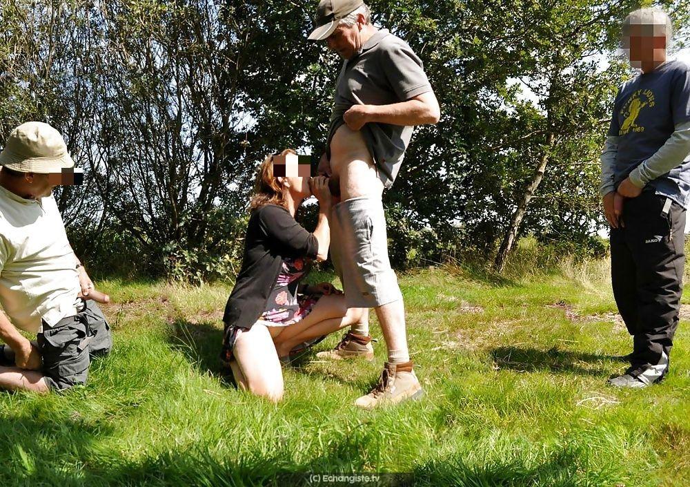 Ferrières : Couple candauliste propose exhibe Pontcarré
