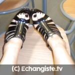 Nantes : femme dominante cherche homme pour lécher pieds